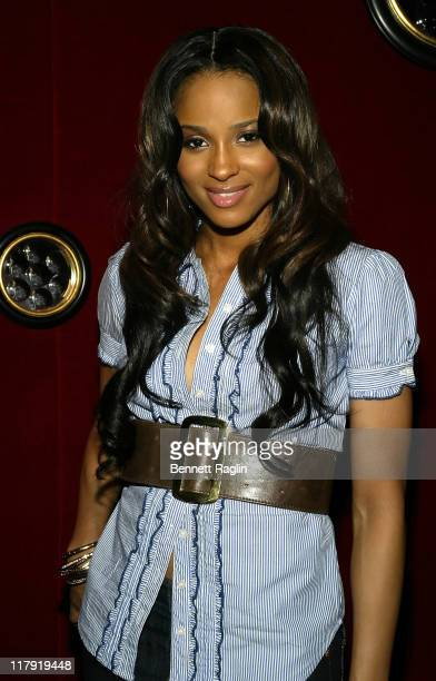 Ciara during 2007 NBA All-Star in Las Vegas - ESPN After Dark Party Sponsor by Hennessy at Tryst at the Wynn in Las Vegas, Navada, United States.