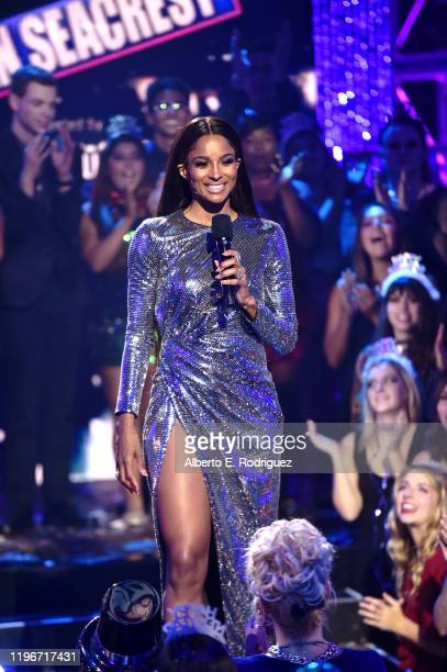Ciara hosts Dick Clark's New Year's Rockin' Eve with Ryan Seacrest 2020 Hollywood Party on November 23, 2019 in Los Angeles, California. The show...