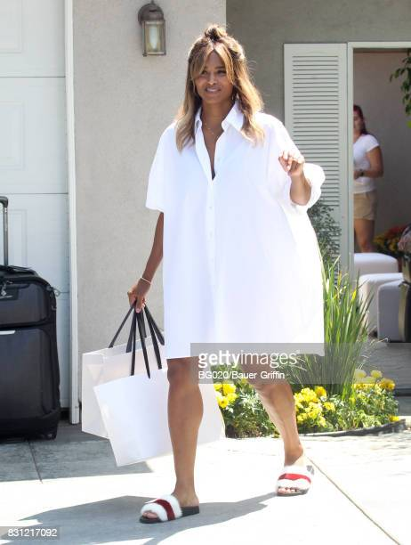 Ciara is seen on August 13 2017 in Los Angeles California
