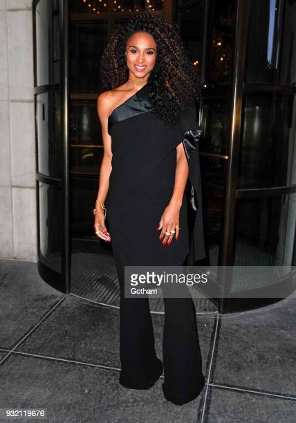 Ciara is seen on March 14 2018 in New York City