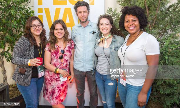 Ciara Lacy Emma PiperBurket David Fenster Missy Laney and Angel Kristi Williams attend the Women Filmmakers Event during 2017 Los Angeles Film...