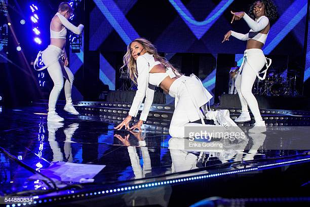 Ciara performs at the MercedesBenz Superdome on July 3 2016 in New Orleans Louisiana