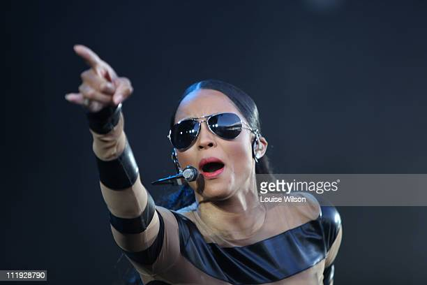 Ciara performs during Sydney Supafest Music Festival at ANZ Stadium on April 9, 2011 in Sydney, Australia.