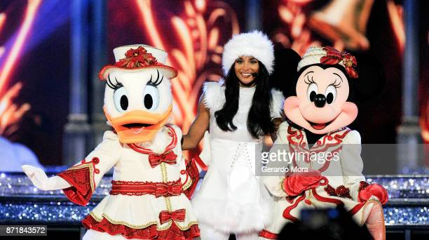 Ciara performs during the taping of 'The Wonderful World Of Disney Magical Holiday Celebration' at Walt Disney World on November 7 2017 in Orlando...