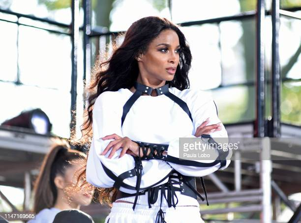 """Ciara performs live from Central Park as part of the GMA Summer Concert Series on """"Good Morning America,"""" Friday, May 31 airing on Walt Disney..."""