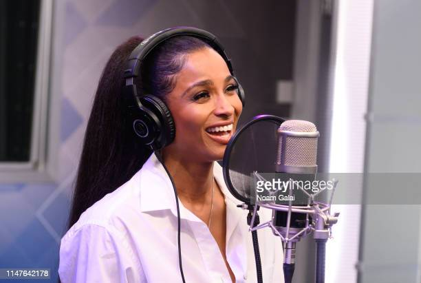 Ciara performs on SiriusXM Hits 1 at the SiriusXM Studios In New York on May 07 2019 in New York City