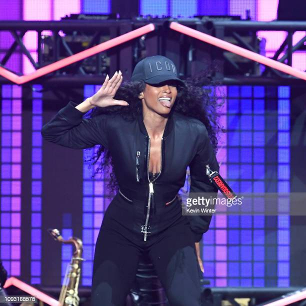 Ciara performs onstage during Bud Light Super Bowl Music Fest / EA SPORTS BOWL at State Farm Arena on January 31 2019 in Atlanta Georgia
