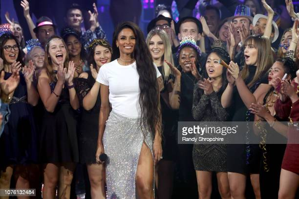 Ciara performs onstage during Dick Clark's New Year's Rockin' Eve With Ryan Seacrest 2019 on December 31 2018 in Los Angeles California