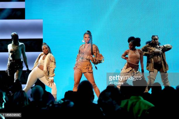 Ciara performs onstage during the 2019 American Music Awards at Microsoft Theater on November 24 2019 in Los Angeles California