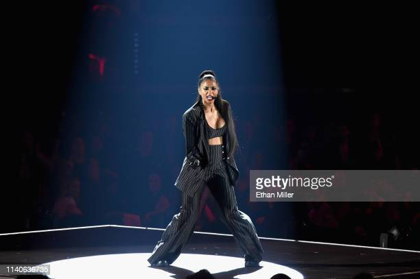 Ciara performs onstage during the 2019 Billboard Music Awards at MGM Grand Garden Arena on May 1 2019 in Las Vegas Nevada