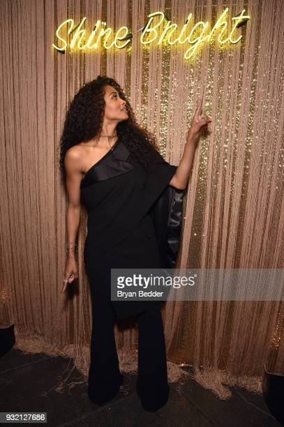 Ciara poses during the PANDORA Jewelry Shine Collection Launch with Ciara on March 14 2018 in New York City