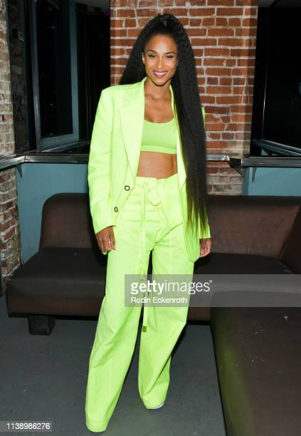 Ciara poses for portrait at a surprise appearance during RuPaul's Drag Race Viewing Party at Micky's West Hollywood on March 28 2019 in West...