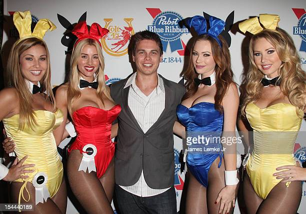 Ciara Price Heather Rae Young Morgan Kimberly Phillips and Tiffany Toth attend the Snoop Dogg Presents Colt 45 Works Every Time mansion party with...