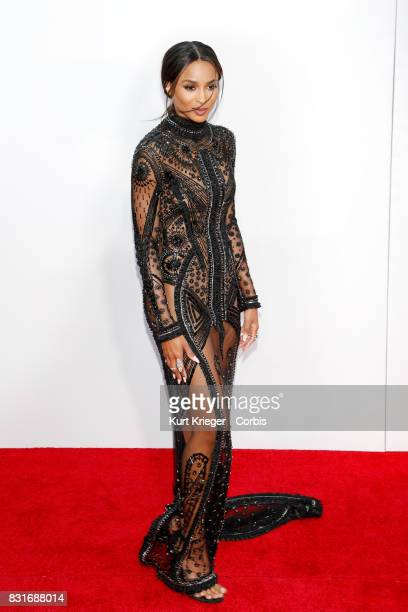 Image has been digitally retouched Ciara Princess Harris arrives at the 2015 American Music Awards in Los Angeles California on November 22 2015