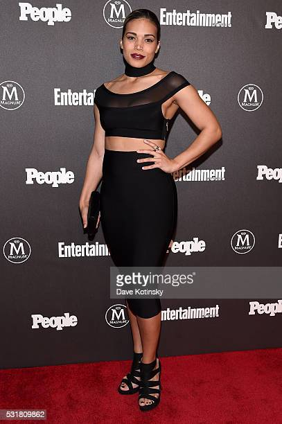 Ciara Renée attends the Entertainment Weekly People Upfronts party 2016 at Cedar Lake on May 16 2016 in New York City