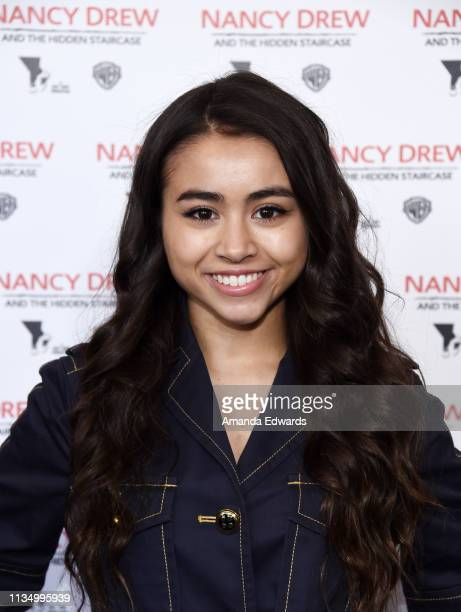 Ciara Riley Wilson arrives at the World Premiere of Nancy Drew And The Hidden Staircase at AMC Century City 15 on March 10 2019 in Century City...