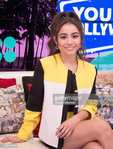 Ciara Riley Wilson visits the Young Hollywood Studio on February 13 2019 in Los Angeles California
