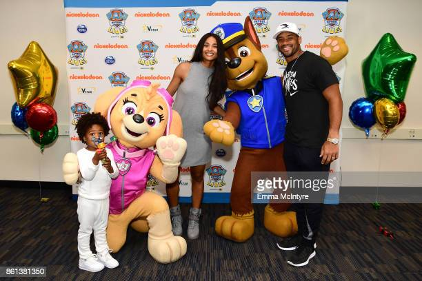 Ciara Russell Wilson and Future Zahir Wilburn attend Nickelodeon And VStar Entertainment Group's PAW Patrol Live Race to the Rescue at Dolby Theatre...
