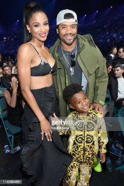 Ciara Russell Wilson and Future Zahir Wilburn attend the 2019 Billboard Music Awards at MGM Grand Garden Arena on May 1 2019 in Las Vegas Nevada