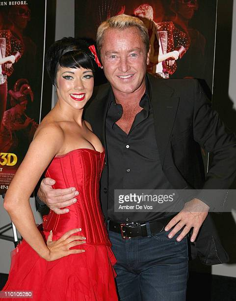 Ciara Sexton and Michael Flatley attend the New York premiere of Michael Flatley's Lord Of The Dance 3D at AMC Loews Lincoln Square on March 14 2011...