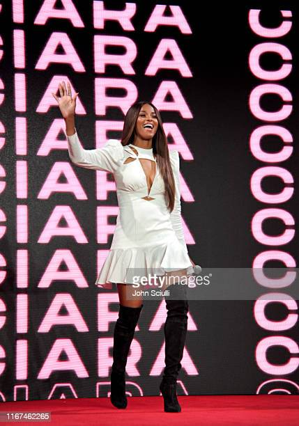 Ciara speaks onstage during Beautycon Festival Los Angeles 2019 at Los Angeles Convention Center on August 11 2019 in Los Angeles California