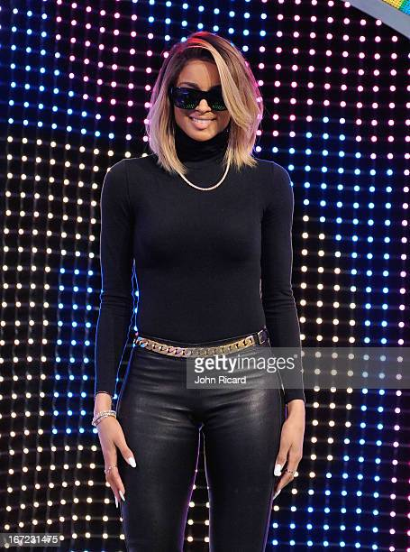 Ciara visits BET's '106 Park' at BET Studios on April 22 2013 in New York City