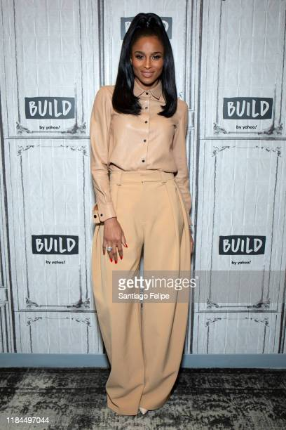 Ciara visits Build Studio on October 30 2019 in New York City