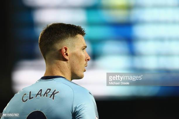 Ciaran Clark of Newcastle United during the Premier League match between West Bromwich Albion and Newcastle United at The Hawthorns on November 28...