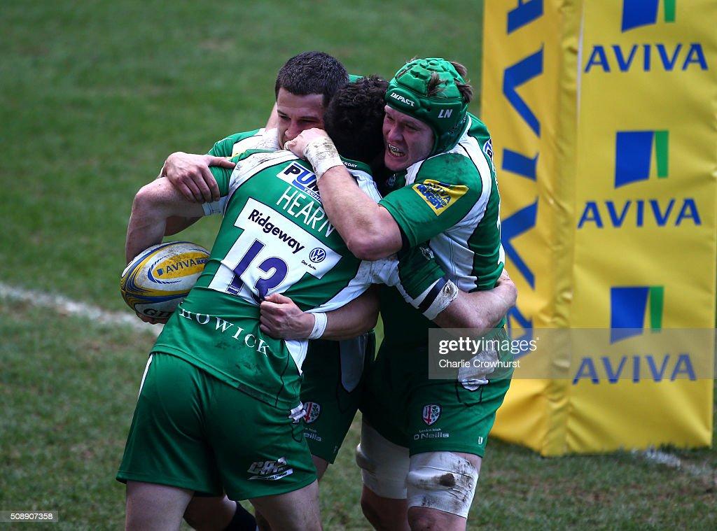 London Irish v Worcester Warriors - Aviva Premiership : News Photo