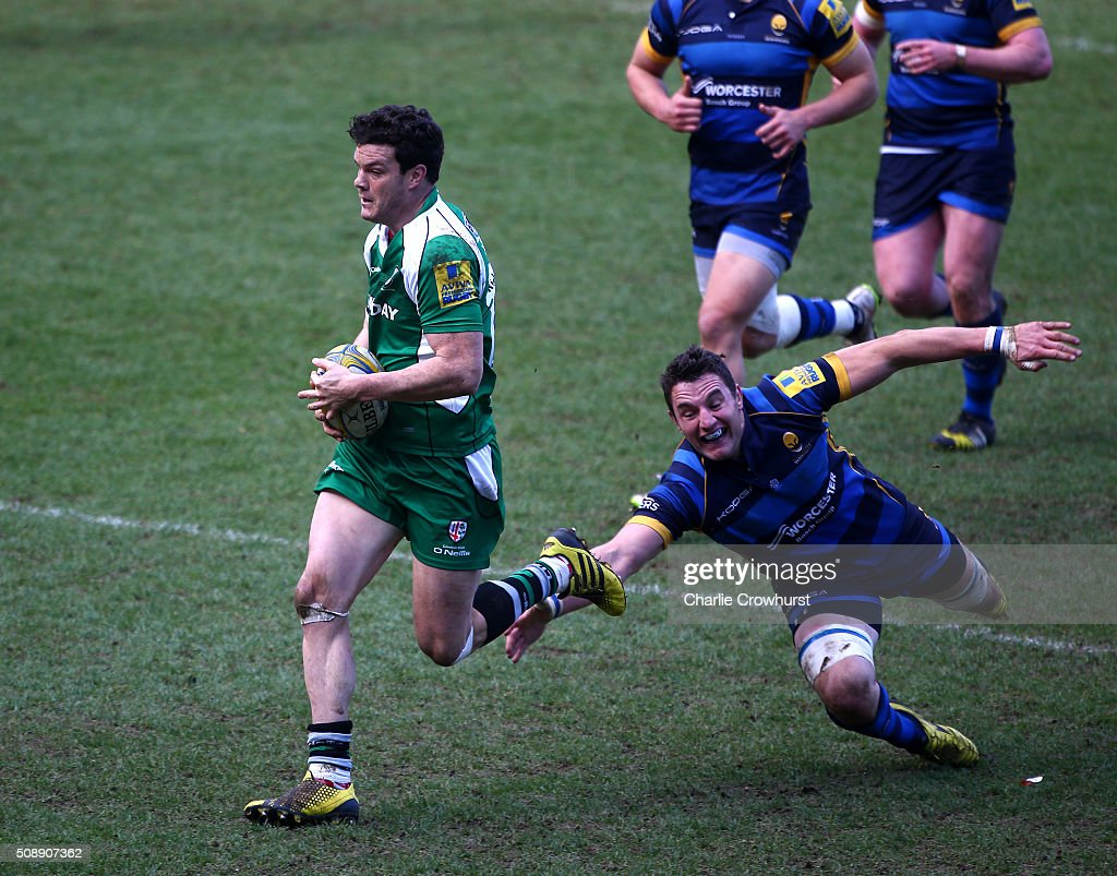 London Irish v Worcester Warriors - Aviva Premiership : News Photo