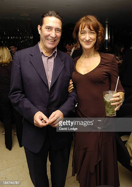 Ciaran Hinds and Haydn Gwynne during HBO's Rome London Premiere at UGC Trocadero in London Great Britain