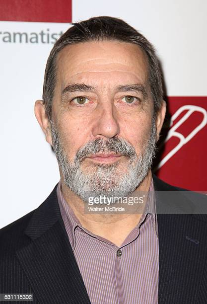 Ciaran Hinds attends the 67th Annual New Dramatists Spring Luncheon at Marriott Marquis Times Square on May 12 2016 in New York City