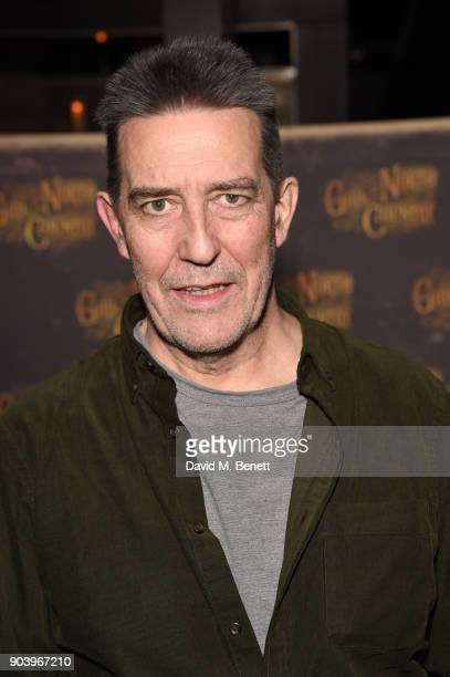 Ciaran Hinds attends the after party of Bob Dylan and Conor McPherson's Girl from the North Country at Mint Leaf following a sell out critically...