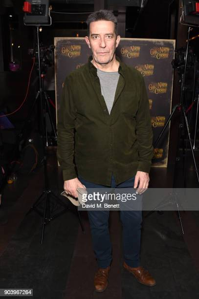 Ciaran Hinds attends the after party of Bob Dylan and Conor McPherson's 'Girl from the North Country' at Mint Leaf following a sell out critically...