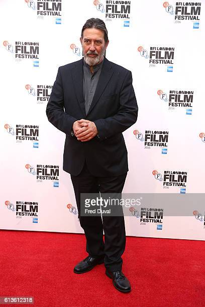 Ciaran Hinds attends the 'Bleed For This' Thrill Gala screening in association with EMPIRE magazine during the 60th BFI London Film Festival at...
