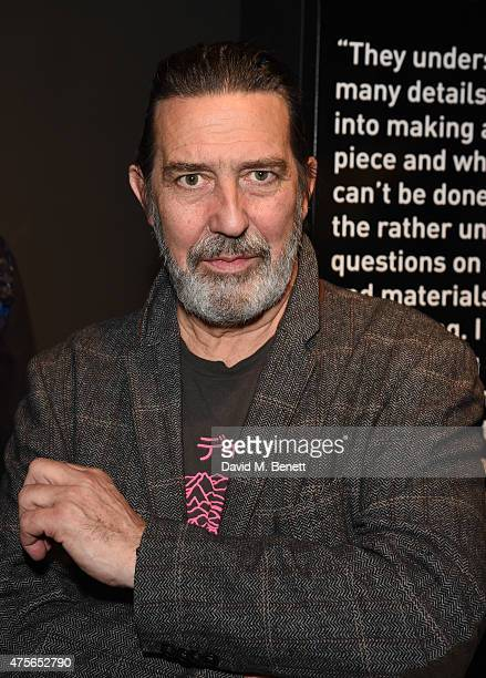 Ciaran Hinds attends the Maison Mais Non launch party as Micheal Neeson launches fashion gallery in Soho on June 2 2015 in London England