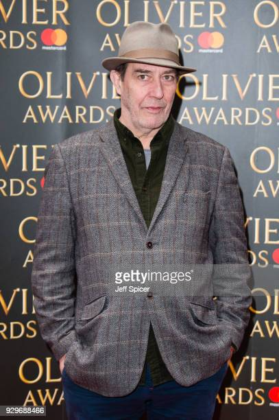 Ciaran Hinds attends the Olivier Awards nominations celebration at Rosewood Hotel on March 9 2018 in London England