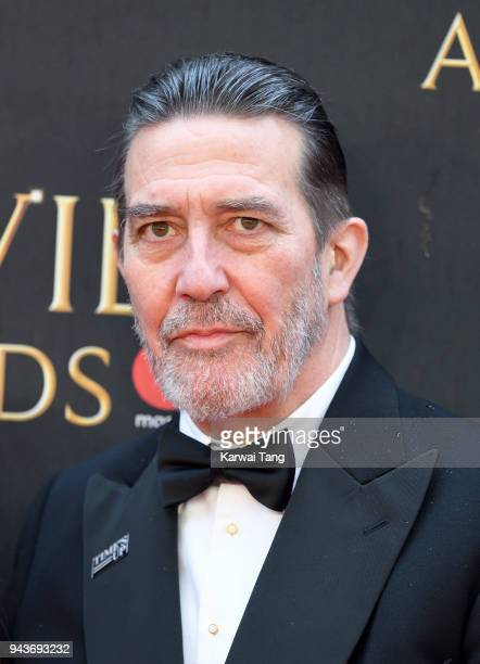 Ciaran Hinds attends The Olivier Awards with Mastercard at Royal Albert Hall on April 8 2018 in London England