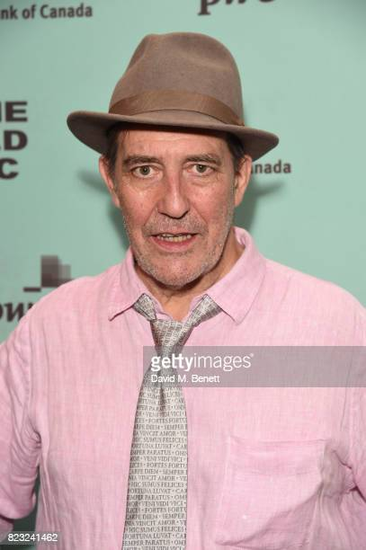 Ciaran Hinds attends the press night after party for 'Girl From The North Country' at The Old Vic Theatre on July 26 2017 in London England