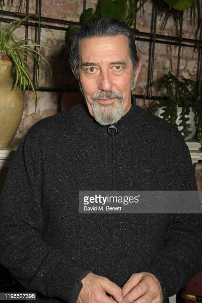 """Ciaran Hinds attends the press night after party for """"Uncle Vanya"""" at Sophie's on January 23, 2020 in London, England."""
