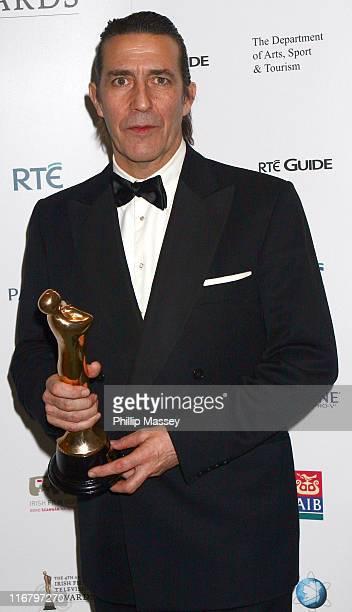Ciaran Hinds during 2007 Irish Film and Television Awards - Press Room at RDS in Dublin, Ireland.