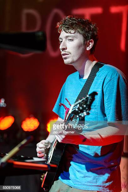 Ciaran O'Donnell of The Front Bottoms performs at Revolution on May 10 2016 in Fort Lauderdale Florida