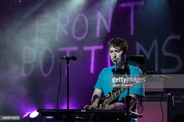 Ciaran O'Donnell of The Front Bottoms performsat Revolution on May 10 2016 in Fort Lauderdale Florida