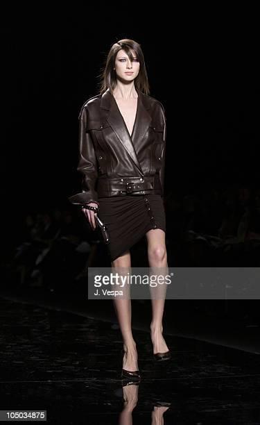 Ciatrona Balfe wearing Michael Kors Fall 2003 Fashion