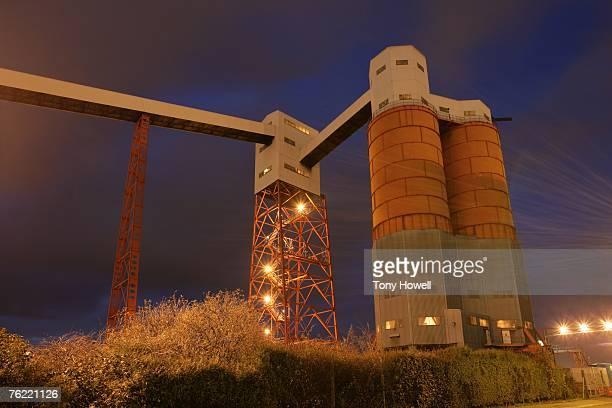 Ciba Railhead Building, Avonmouth, Bristol, England, UK