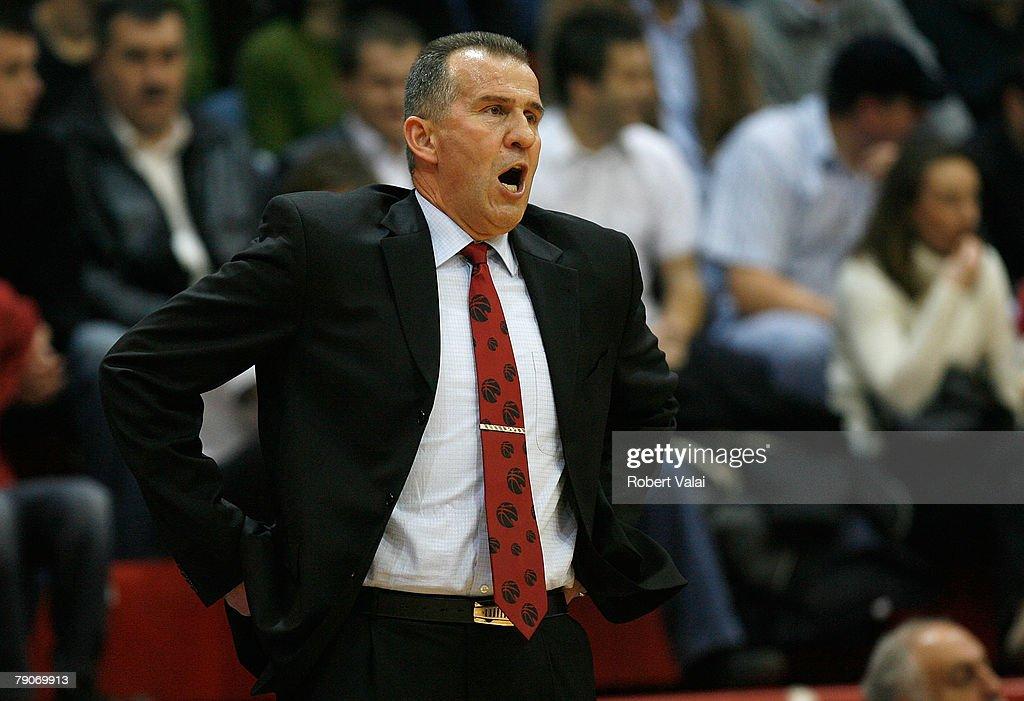 HRV: Euroleague Basketball - Game 12 - Cibona Zagreb vs Maccabi Elite Tel Aviv : News Photo