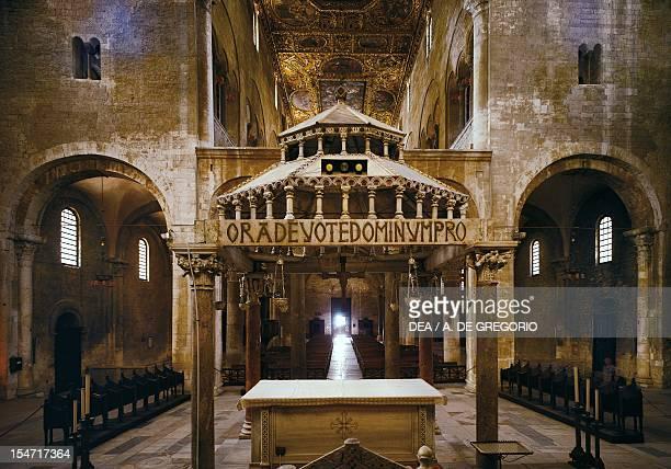 Ciborium of the Basilica of San Nicola di Bari Apulia Italy 11th century