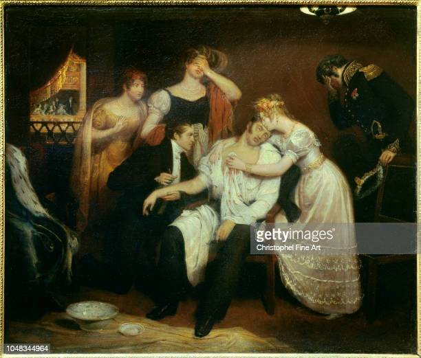 Cibot Francois The death of the duke of berry on February 13, 1820 at the royal academy of music Musee Carnavalet.