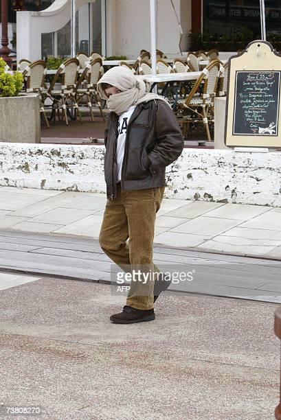 French President Jacques Chirac's grandson Martin ReyChirac attends a lunch at 'Chez Margot' restaurant in Ciboure south west of France 03 April 2007...