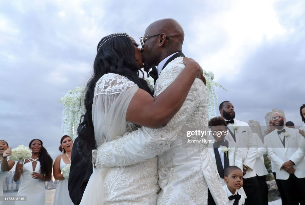 Treach & Cicely Evans Wedding : News Photo